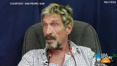 McAfee says he is innocent in Belize killing | Belize Travel and Vacation | Scoop.it