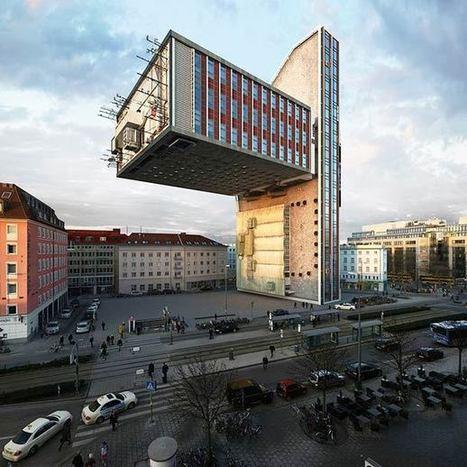 Un photographe imagine 88 versions du même immeuble, Epoustouflant ! | Déco & tendances contemporaines | Scoop.it