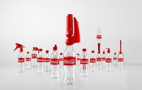Influencia - Audace - Packaging : Coca-Cola et Vittel se jouent des bouchons | Digital commerce | Scoop.it