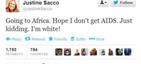 Justine Sacco, ou les infortunes de la vertu en ligne | Web 2.0 et société | Scoop.it