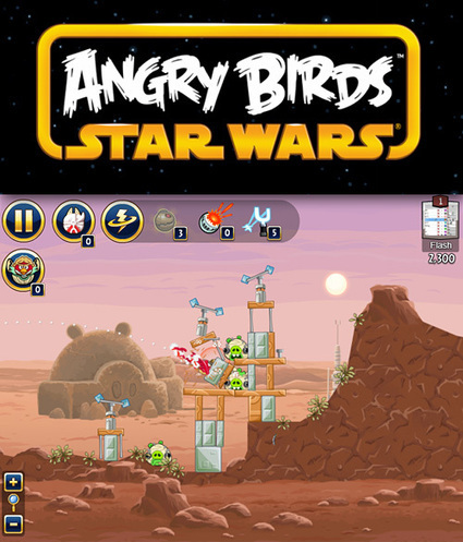 Stage3D/Starling: Angry Birds Star Wars Facebook... | Everything about Flash | Scoop.it