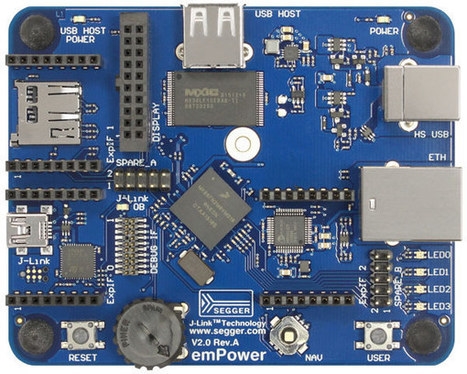 Segger emPower is an embOS RTOS Evaluation Board with a J-Link OB Debug Interface | Embedded Systems News | Scoop.it