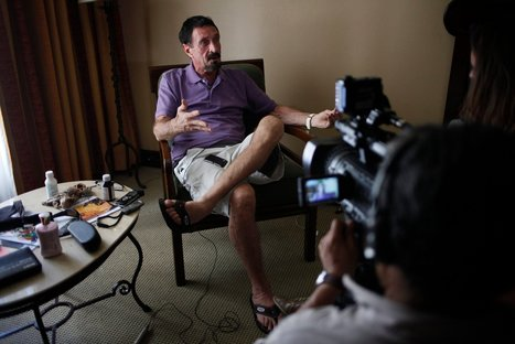In Pursuit of John McAfee, Media Are Part of Story | Maven Pop | Scoop.it