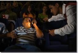 Des sièges réservés pour tweeter au cinéma | Geekattitude | I@LEWEB | Scoop.it