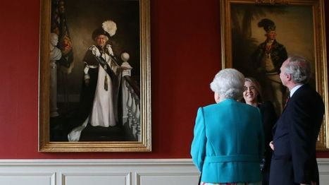 Queen's portrait unveiled at Archers' Hall in Edinburgh - BBC News | Today's Edinburgh News | Scoop.it