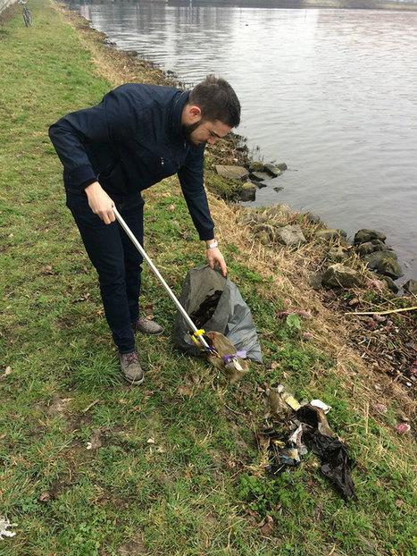 Ενας ευαίσθητος Ολλανδός: Δεν θα πιστεύετε τι έκανε επειδή αγανάκτησε με τα σκουπίδια [εικόνες] | omnia mea mecum fero | Scoop.it