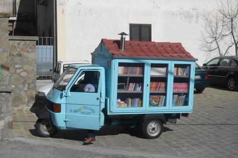 Cultura on the road: il bibliomotocarro<br/> - Si puo' fare, cronache da un paese migliore | Design your Business | Scoop.it