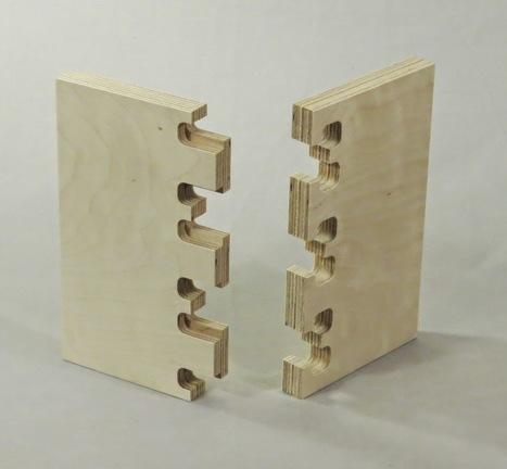 Digital Fabrication for Designers: CNC Cut Wood Joinery | Architecture, design & algorithms | Scoop.it