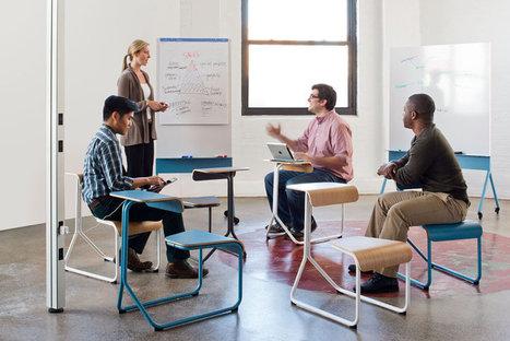 Office Furniture Designed To Spark Inspiring, Random Encounters | Office | Scoop.it
