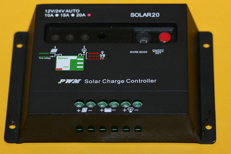 20A Solar charge controller 12/24V | DIY Arduino, Android, Photography | Scoop.it