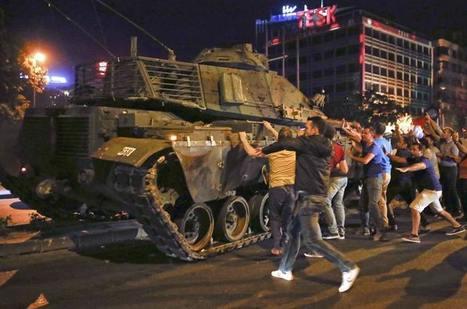 Coup d'État avorté : les journalistes turcs au bord du gouffre | Reporters sans frontières | Info Com , web 2.0 | Scoop.it