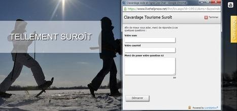 Le clavardage comme outil marketing | Communication & Tourisme | Scoop.it