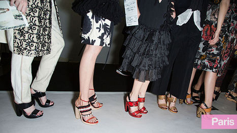 The Best Shoes, Flats, Heels at Spring 2014 Fashion Week | All about Shoes | Scoop.it