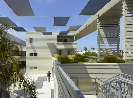 Sustainable Affordable Housing in Santa Monica: Pico Place by Brooks + Scarpa | The Architecture of the City | Scoop.it