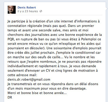 Denis Robert lance un nouveau site d'info | Journalism Issues | Scoop.it