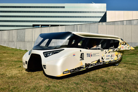 The 4-seater solar-powered family car of the future | Solar Energy projects & Energy Efficiency | Scoop.it