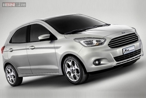 Auto Expo 2014: Ford India to unveil its new global Ka concept today | checkcarin | Scoop.it