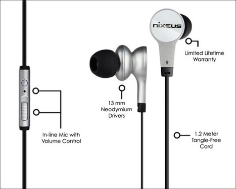High Fidelity Earphones offered by Nixeus | Nixeus For high performance Monitors, Keyboards, Media Players and Earphones | Scoop.it