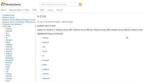 Command-line Reference for Windows | Free Tutorials in EN, FR, DE | Scoop.it