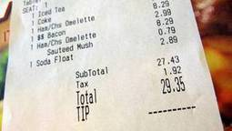 Should restaurants be barred from taking a share of a server's tip?   Foodie Next   Scoop.it