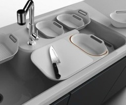 Simple Life, Collective Kitchen Sink System | Kitchen Design - Applinaces | Scoop.it