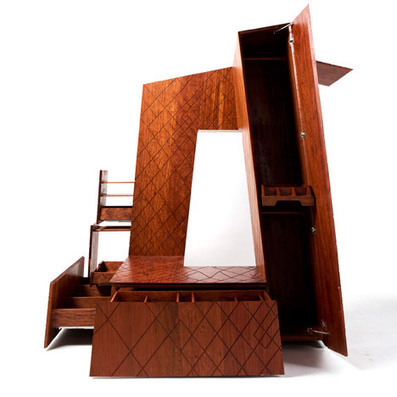 OMA's CCTV building reconstructed as a wooden cabinet | Inspired By Design | Scoop.it