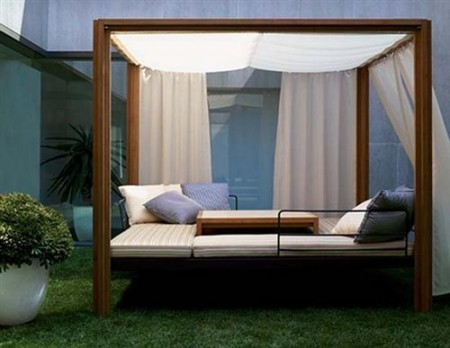 Camas para jardines, patios y balcones - DecoraHOY | AteBur | Scoop.it
