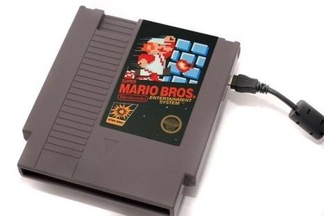NES Hard Drive - Super Mario Bros  500GB by 8BitMemory   All Geeks   Scoop.it