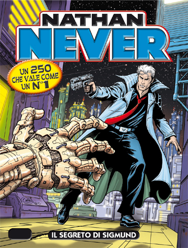 Nathan Never cambia copertinista e torna alle origini | DailyComics | Scoop.it