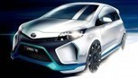 Yaris Hybrid-R Concept: Toyota svela la prima immagine ufficiale - International Business Times Italia | business, facebook | Scoop.it
