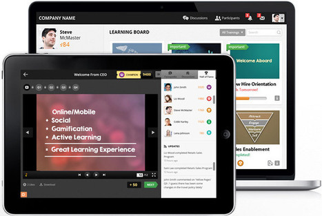 Online Training Software - Cloud Based Training   MindTickle   Gamification   Scoop.it