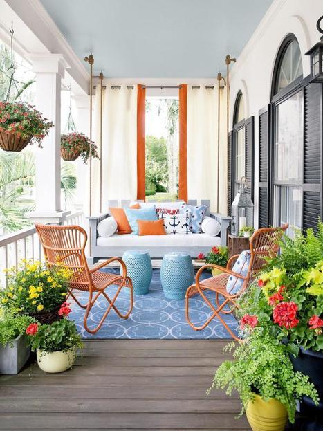 Fabulous Front Porch Ideas - Four Generations One Roof   Decorating Ideas - Home Design Ideas   Scoop.it