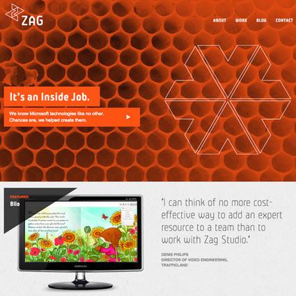 30 Beautiful Shades of Monochromatic Websites   Naldz Graphics   Public Relations & Social Media Insight   Scoop.it