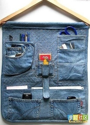 Blue Jeans & Denim Upcycle   Market Day Ideas   Scoop.it