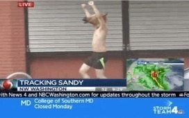Shirtless Man In Horse Mask Ruins/Enhances Live Coverage Of Hurricane Sandy (VIDEO) | The Billy Pulpit | Scoop.it