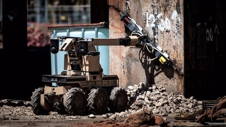 UK power station demolished by an international team … of robots | Gizmag | Cultibotics | Scoop.it