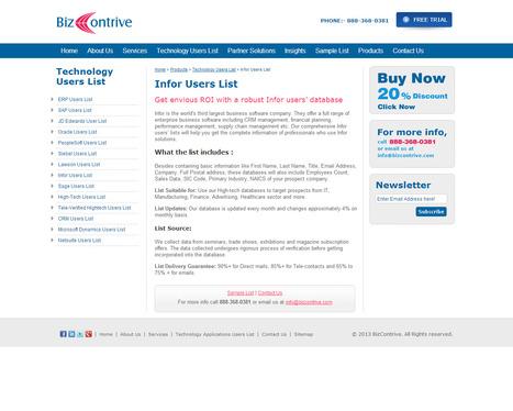 Infor User List | Bizcontrive | Scoop.it