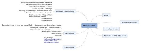 Le mind mapping : les 5 bonnes raisons de l'utiliser | Conceptual Map | Scoop.it