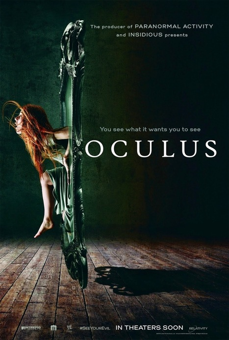 Movie Review: OCULUS Is A Low Budget One Time Watch Horror Flick, With Some Effective Scary Scene. | Hollywood | Scoop.it