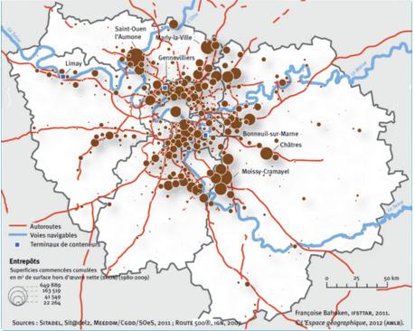 Quel rôle pour le FLEUVE dans le Grand Paris des marchandises? - Cairn.info | URBANmedias | Scoop.it