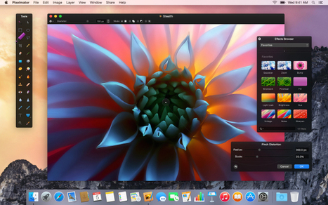Pixelmator 3.3 released with OS X Yosemite optimizations, Repair Tool extension | Education and Technology | Scoop.it
