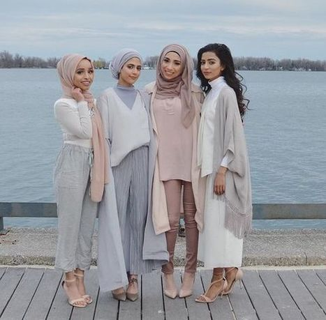 Pastel Hijab Outfit Ideas For This Fall » Celebrity Fashion, Outfit Trends And Beauty News | Fashion Style And Beauty Tips | Scoop.it