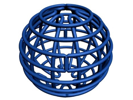 Origami sphere: DNA folding takes a fresh direction   Amazing Science   Scoop.it
