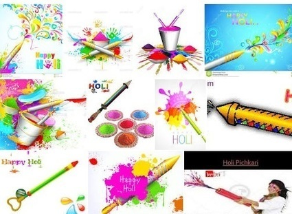 Getting Ready To Splash Colors Around With A Holi Pichkari   Gifts Gallery - Home Appliances, Home Furnishing, Home Decor, House Hold, Beauty Products   Scoop.it
