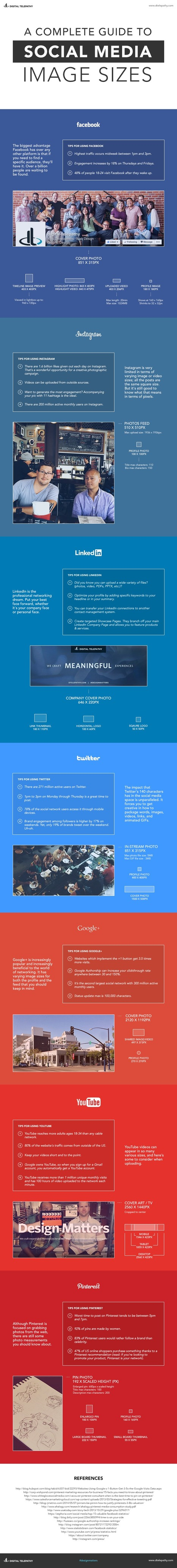 A Complete Guide to Social Media Images [INFOGRAPHIC] | Personal Branding and Professional networks - @TOOLS_BOX_INC @TOOLS_BOX_EUR @TOOLS_BOX_DEV @TOOLS_BOX_FR @TOOLS_BOX_FR @P_TREBAUL @Best_OfTweets | Scoop.it