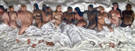 Photos : le clip Famous de Kanye West qui invitent des stars nues dans son lit | Radio Planète-Eléa | Scoop.it