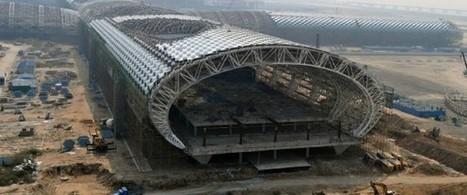 Chantier : Aéroport Shenzhen-Bao'an par Massimiliano Fuksas | Architecture pour tous | Scoop.it