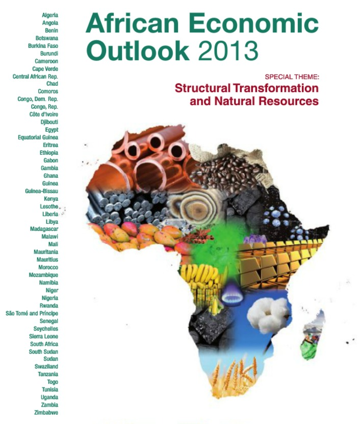 African Economic Outlook 2013 | Megatrends | Scoop.it