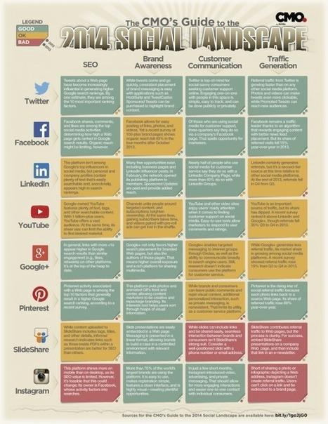 ▶ Choisir son Réseau Social : Le Guide Complet   E-commerce - Réseaux sociaux   Scoop.it