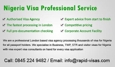Nigerian Visa | Nigeria Visa UK | 2 Day & 7 Day Service | Vishal | Scoop.it